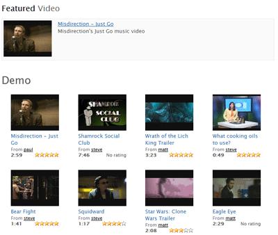 Компонент видео каталога на Joomla
